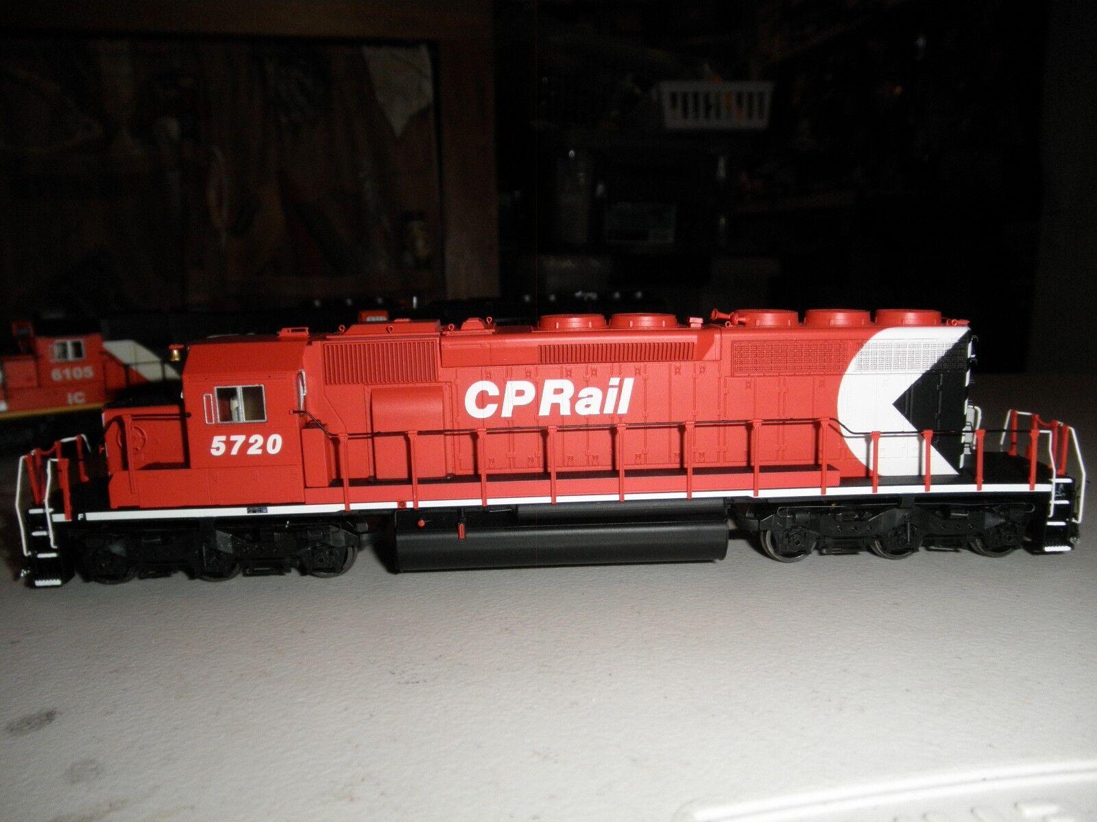 C.P. Rail SD40-2 con DCC y Sonido
