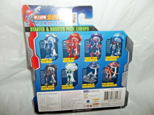 PLAY FUTURE ROBOTEX BOOSTER PACK-OCEAN EVIL FIGURE WITH STAND-DATED 2015