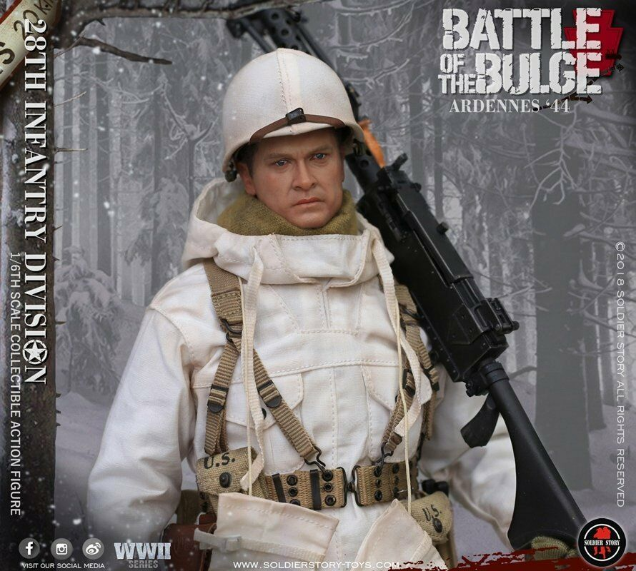 Soldier Story 1 6 SS-111 U.S. Army  28th Infantry Division 1944 Ardennes  nouveau  magasin vente sortie