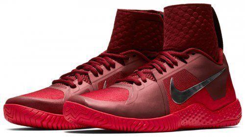 Genuino Equipo De Tenis Nike Nike Nike FLARE LG Qs Rojo Metálico astilla 852763 600  barato