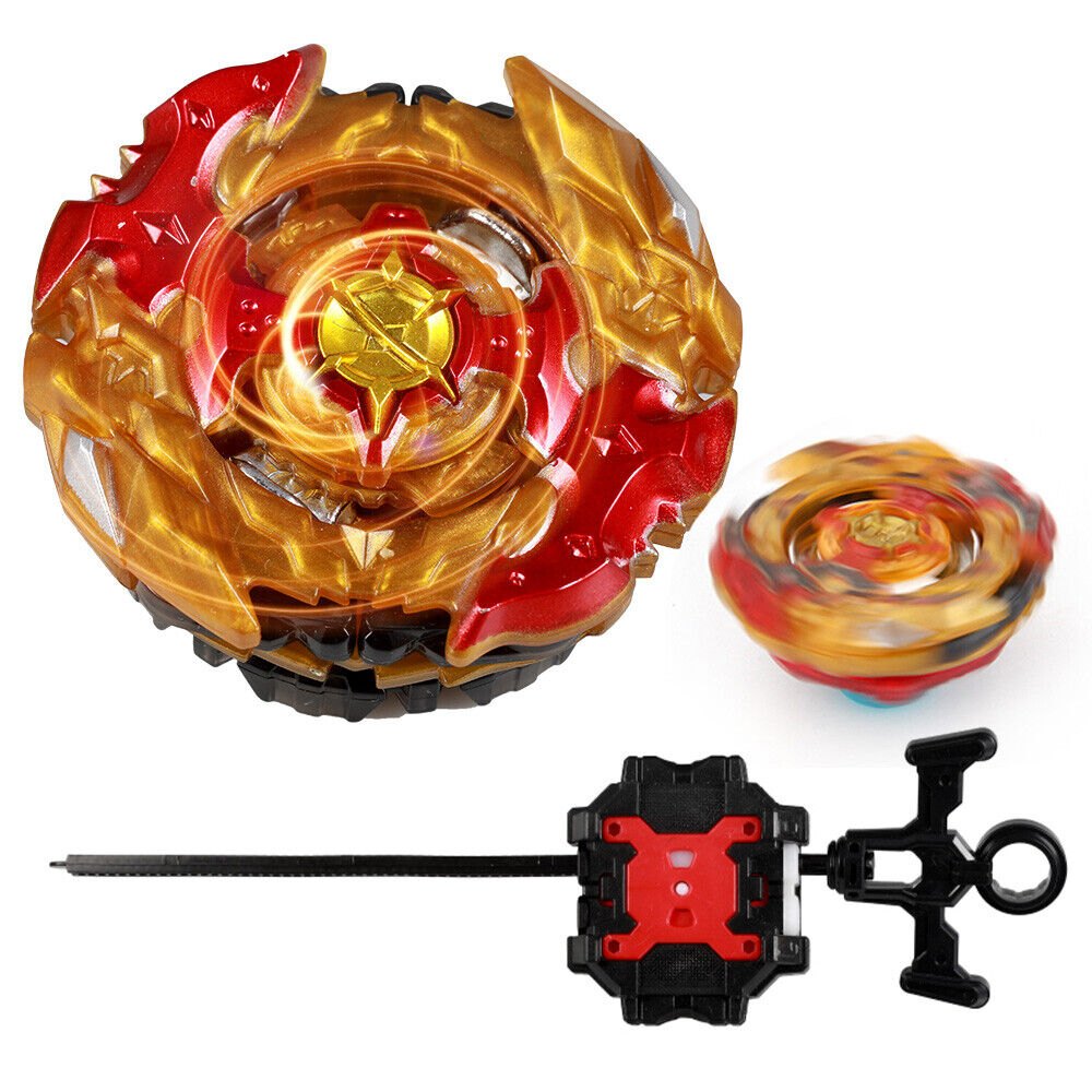 burst gold spinning top metal fusion masters