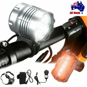 Bright-50000Lm-5xXML-T6-LED-Front-Bicycle-Bike-Light-Headlamp-4x26650-Taillight