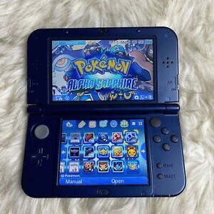 Nintendo New 3DS XL Galaxy Style Handheld Console - With Games