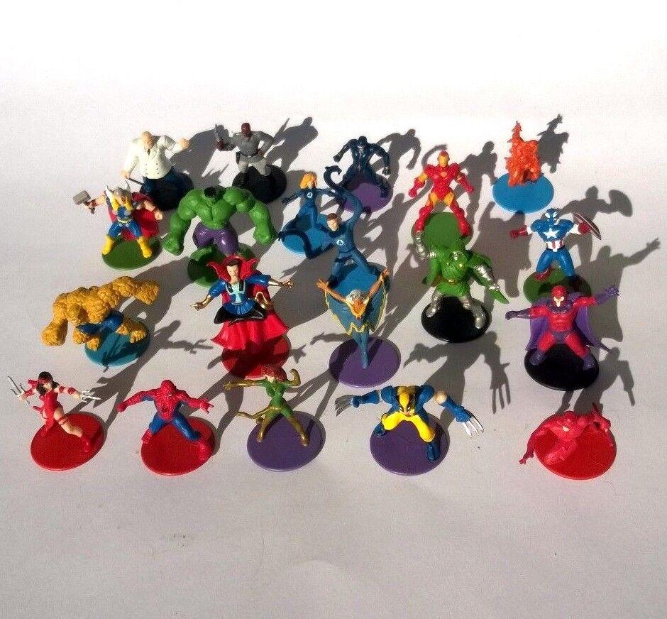 Viele setzen 20 x marvel - helden abbildung kooperation 1,6  2006 brettspiel