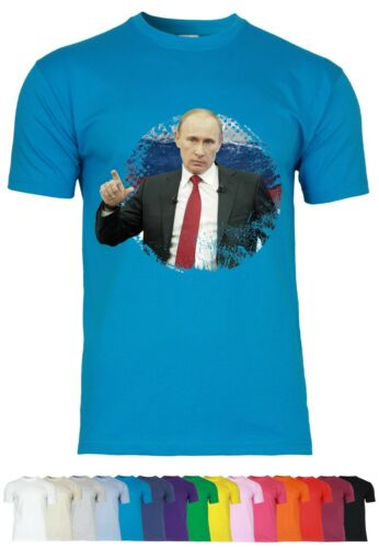 M27 f140 T-shirt hommes avec motif president PoutineRussie Russia liberté Fun