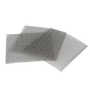 10-X-Aquarium-Edelstahl-Drahtgeflecht-Pad-Pflanzen-Moos-8x8-cm-New-Gift