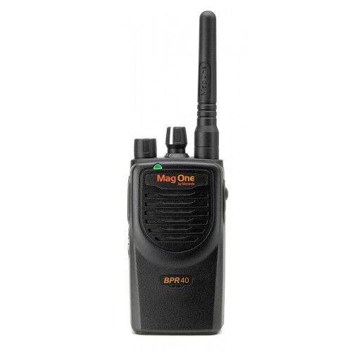 Motorola BPR40 UHF 450-470MHz 8CH 4W Analog Digital Portable Radio AAH84RCS8AA1A