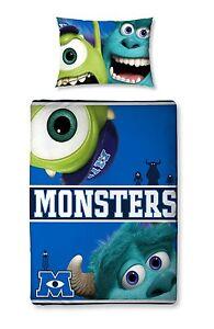 100% Vrai Original Disney Monsters Ag Fac Université Junior-baby-linge De Lit 150x120 Neuf-ttwäsche 150x120 Neu Fr-fr Afficher Le Titre D'origine