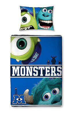 Bettwaren, -wäsche & Matratzen Zielstrebig Original Disney Monsters Ag Uni Universität Junior-baby-bettwäsche 150x120 Neu Bettwäschegarnituren