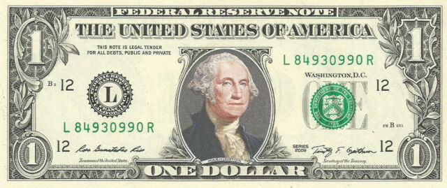 classic State of Louisiana Dollar Bill Fake Funny Money Note with FREE SLEEVE