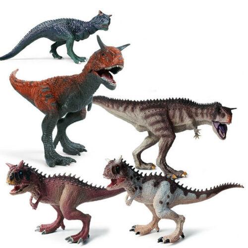 Carnotaurus dinosaure animaux famille Modèle jouets éducatifs Collector Décoration Cadeaux