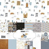 PK593 12 x 12 Paper Pack with Sticker Sheet Let/'s Go Kaisercraft