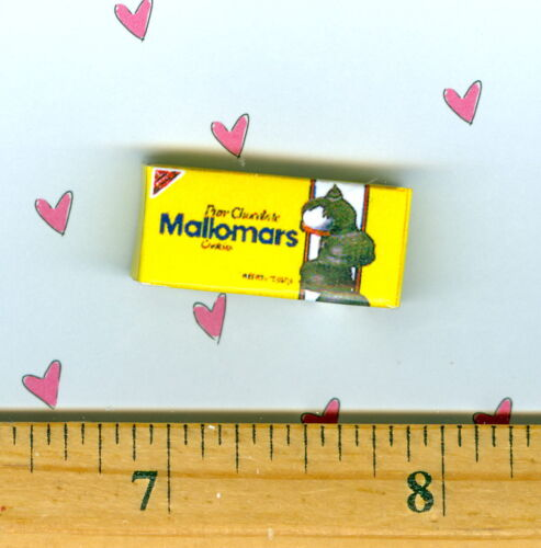Dollhouse Miniatures  Size Mallomars Cookie Box