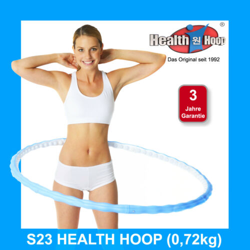 HEALTH HOOP® Hula Hoop Fitness Reifen S23 0,72kg 63 Massagenoppen Hula Hup