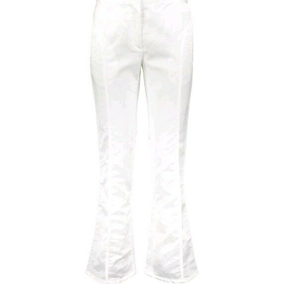 COSTUME NATIONAL White Trousers  IT 38 -