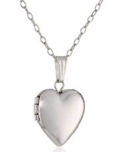 HEART LOCKET OPENABLE PATTERNED TO STORE KEEPSAKES KP6 SILVER OR GOLD PLATED
