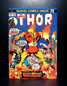 COMICS-Marvel-Thor-225-1974-1st-Firelord-app-RARE