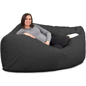 Groovy Details About Ultimate Corner Sack Bean Bag Chair Multiple Colors Materials Avail Foam Forskolin Free Trial Chair Design Images Forskolin Free Trialorg