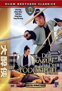 La lotta per la morte sigillo [DVD/Nuovo/Scatola Originale] Chin Ping, Chiao Chiao, Yueh Hua, WA