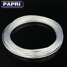 16.4ft/5M 1.0MM2 OCC Copper Silver plated Wire&Cable Tube AMP DIY Audio AWG17