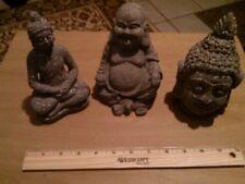 beautiful Buddha buddhist mini statues (lot of 3)