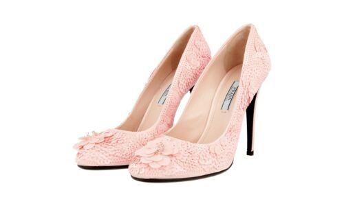 Orchidea Luxus 39 Prada Neu 5 6 1i893e Schuhe Pailletten 39 Uk Pumps Hochzeits AYxAp