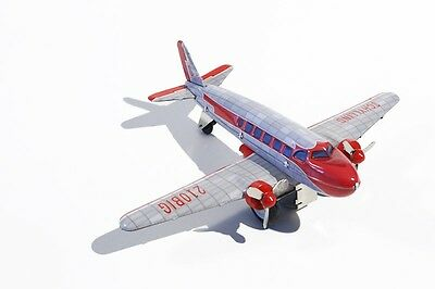 Spielzeug Blechspielzeug Willensstark Blechspielzeug Flugzeug Dc 3 Mit Friktionsantrieb Diversifiziert In Der Verpackung