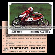 #pnms79.077 ★ Pilote Rider ALDO PERO' (KREIDLER VAN VEEN) ★ Panini Moto Sport 79