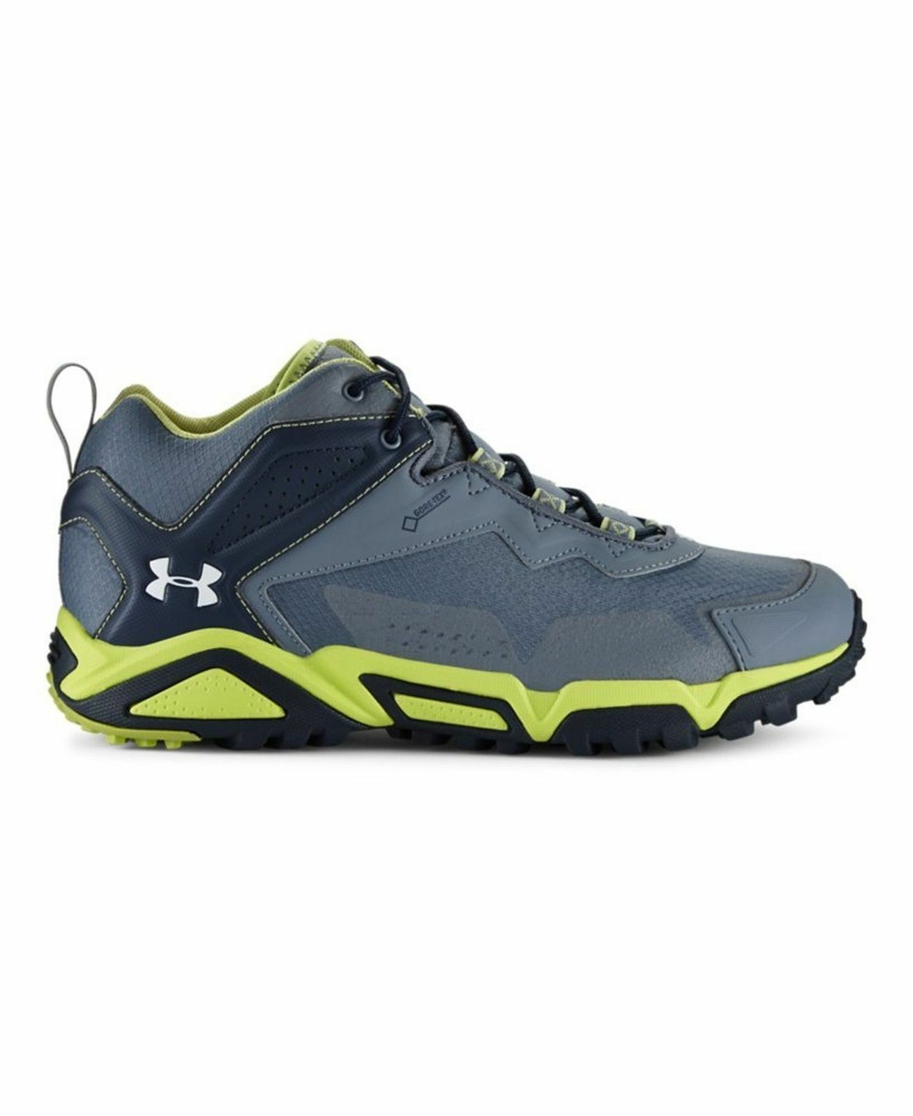 MEN TABOR RIDGE LOW UNDER ARMOUR GRAVEL/ ZOMBIE GREEN/ IVORY 9