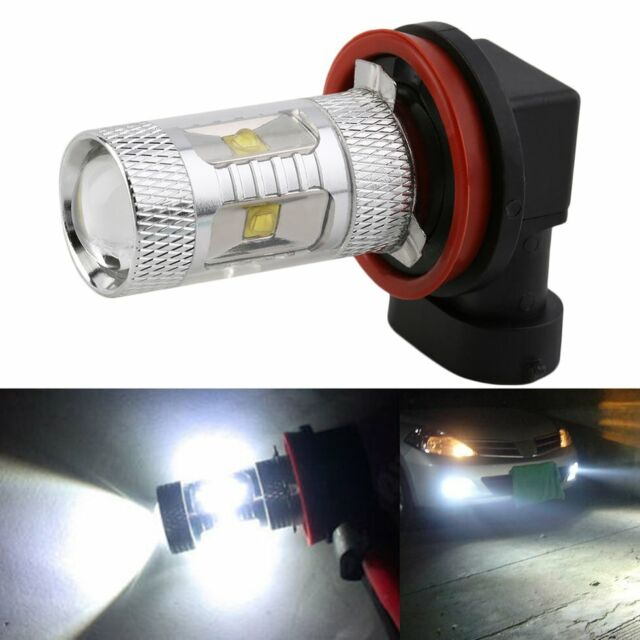 H11 7000K White 30W High Power Fog/Driving DRL Daytime Running LED Light 12V RY