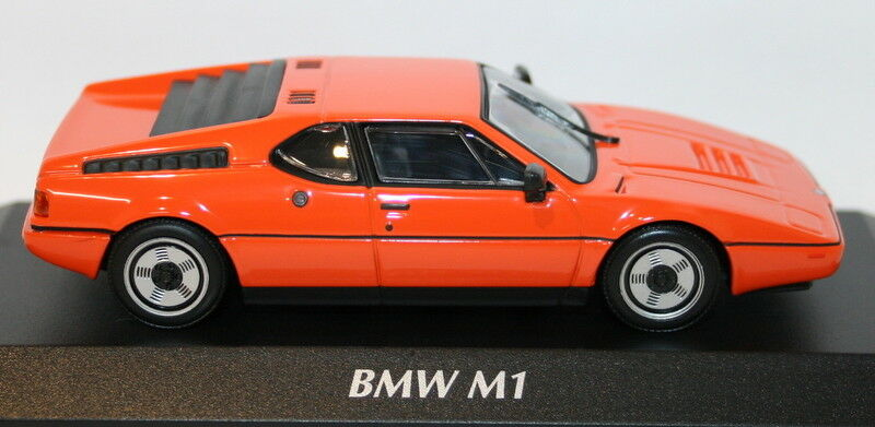 Maxichamps 1 43 43 43 Scale Diecast 940 025020 - BMW M1 1979 - orange 55ed02