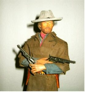 Details about COLT WALKER LEATHER HOLSTER Josey Wales Type FOR 8-9