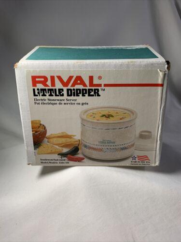 VTG Rival Little Dipper Stoneware Crock Pot Mini Slow Cooker Model ...