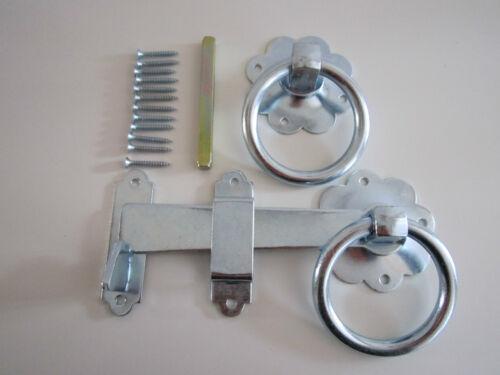 Gate Latch Zinc Plated 5 yr Guarantee Free P/&P Heavy Duty Quality Door