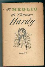 HARDY THOMAS  IL MEGLIO LONGANESI 1953 I ED. IL MEGLIO 3