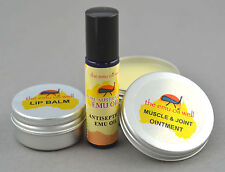 Emu Oil Well Travel Kit - Mini Natural First Aid Pack