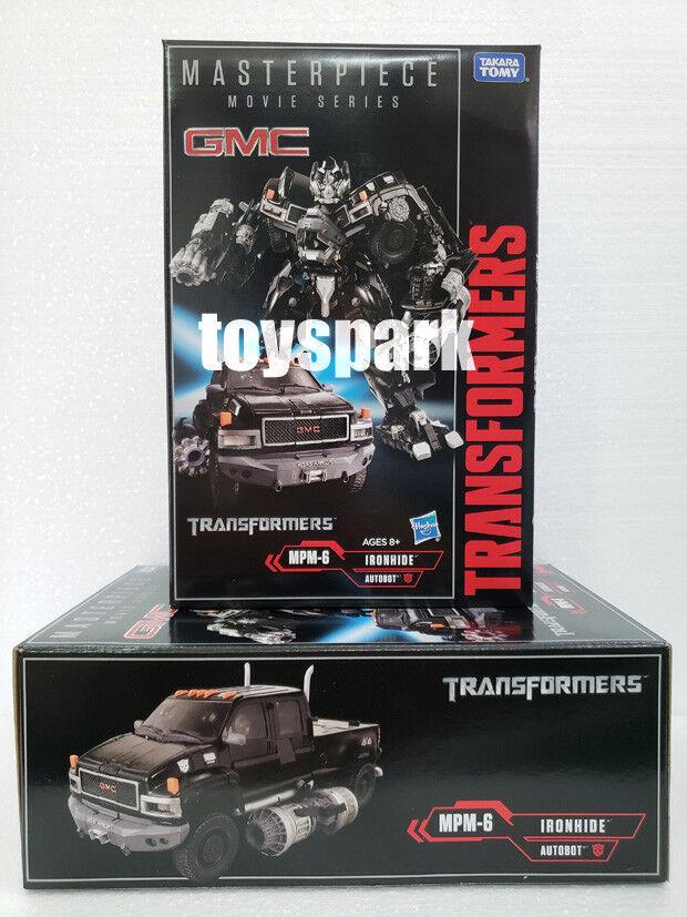 En Stock  Takara película Transformers Masterpiece MPM-06 Ironhide mpm-6 figura