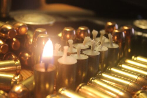 30 Blazing Bullet .40 Survival Candle Fire Starter Outdoor Survival Gear