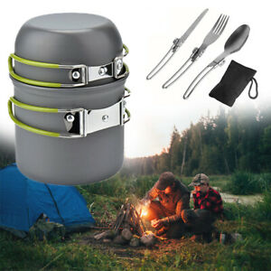 Folding-Handles-Camping-Cookware-Pot-Pan-Outdoor-Hiking-Picnic-Bowl-Tableware