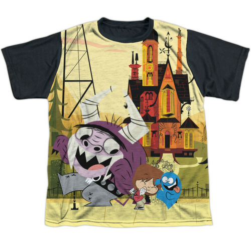 Fosters Home for Imaginary Friends Dancing Friends Big Boys Black Back T-Shirt