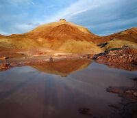 3d Wüste, See 6868 Fototapeten Wandbild Fototapete Bild Tapete Familie Kinder