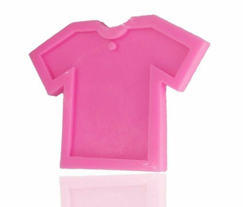 Girl Shirt Silicone Mold Clothes Polymer Clay Resin Moul for Keychain Pendant