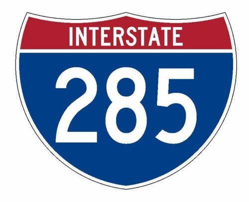 Interstate 285 Sticker R2115 Highway Sign Road Sign
