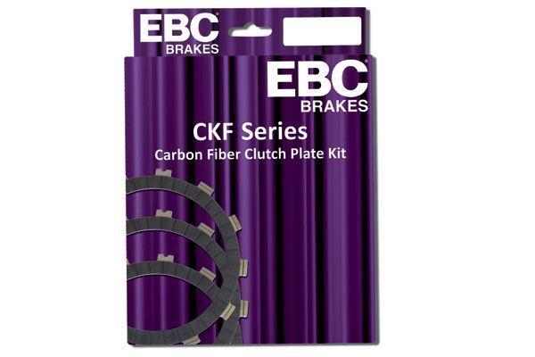 Pour Honda NSR 80 V (HC06-170) 97 EBC Carbone Kit D 'em Brayage