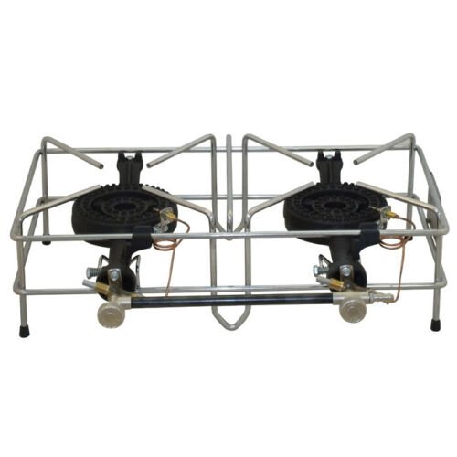 Double Inline Medium WIRE FRAMED Stove with FFD FOKER STOVE UUFK003055F