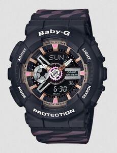 Casio-Baby-G-BA110CH-1A-Anadigi-Chance-Black-Resin-Watch-COD-PayPal