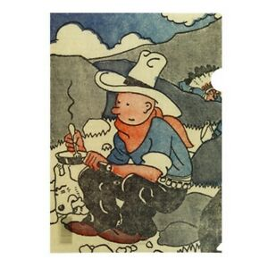 Carpeta-dossier-A4-Tintin-Le-Petit-Vingtieme-Tintin-en-America-15173