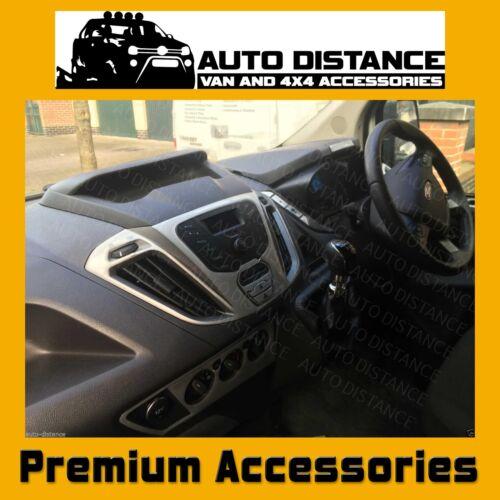 Ford Transit mano derecha Disco Nueva forma DASH KIT de molduras de aluminio Efecto
