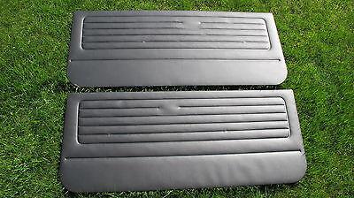 VW Golf 1 GTI Cabrio Türverkleidungen schwarz
