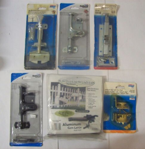 National Gate Latches Latch Bolts Bolt Locks Sliding Foot Top Mount Door Hinge